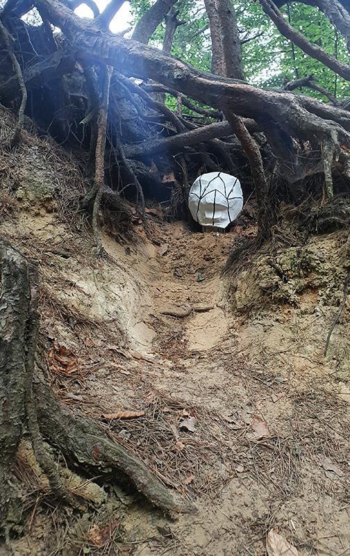 Magic Forest, burning underground warriors